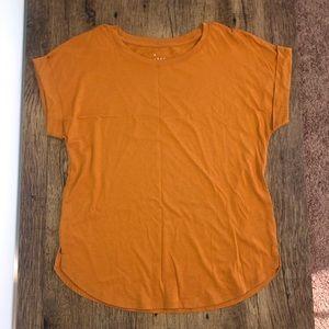 Rust orange tee